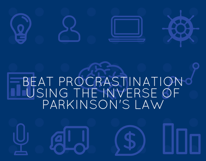 beat-procrastination-parkinsons-law