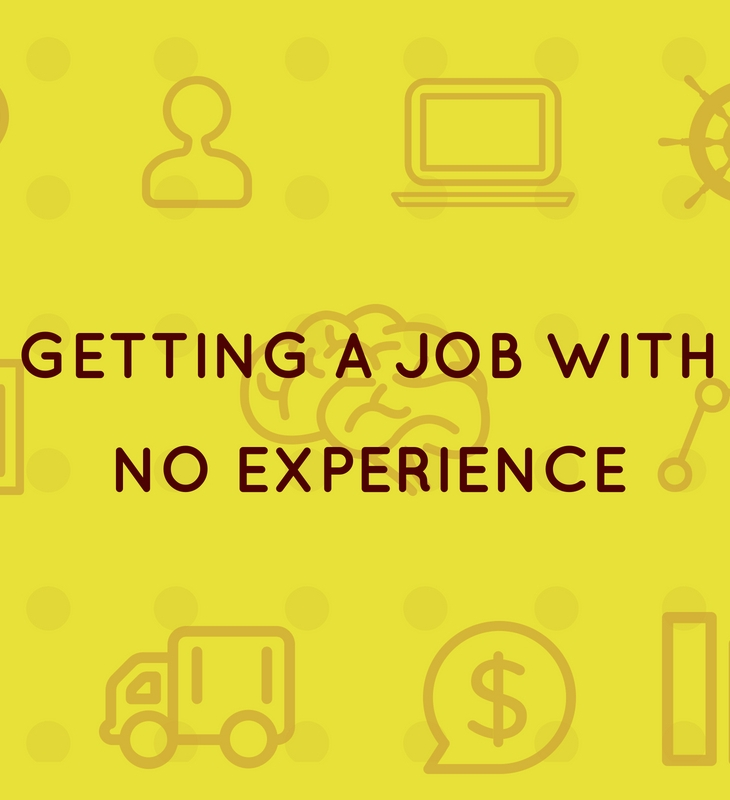 Getting a job with no experience
